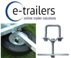 "TRAILER SPARE WHEEL BRACKET FOR 8"" 10"" WHEELS - MP195 ERDE DAXARA MAYPOLE"